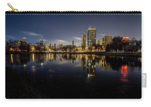 Chicago Skyline At Dawn  Carry-all Pouch