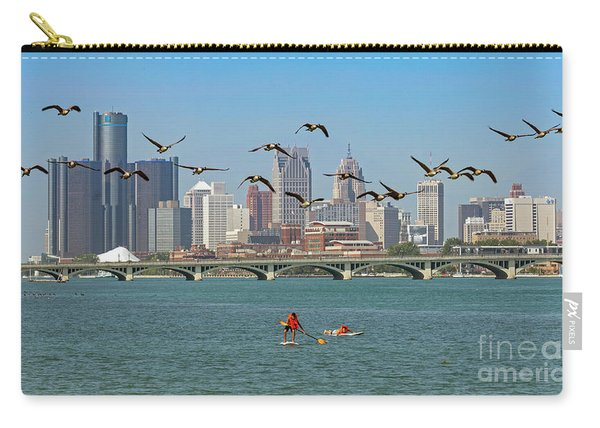 Detroit River Carry-all Pouch