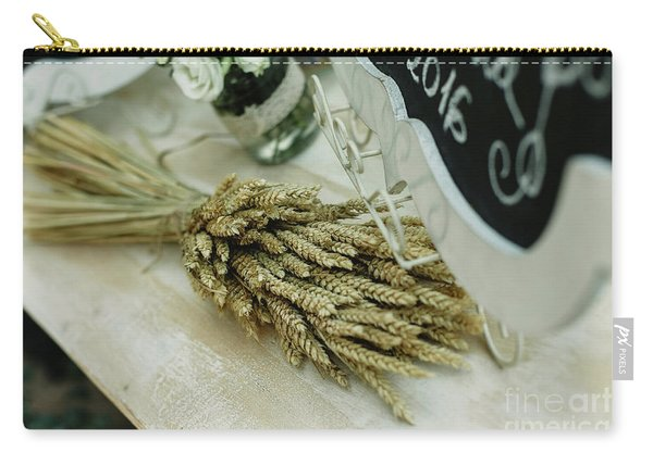 Floral Decorations In The Spaces Of A Wedding Restaurant. Carry-all Pouch
