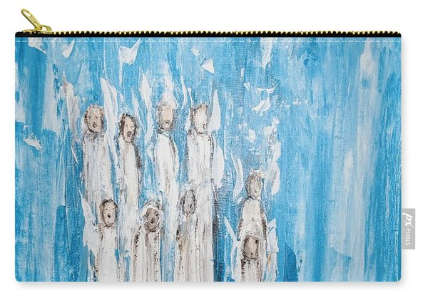Heavenly Host Of Angels  Carry-all Pouch