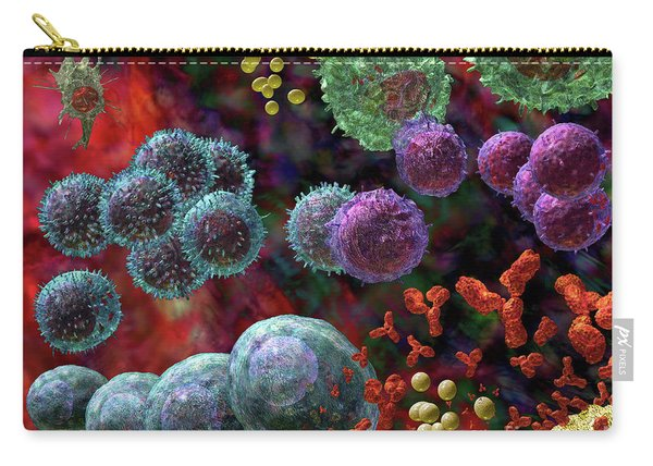 Immune Response Antibody 4 Carry-all Pouch