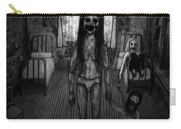 Jessica And Her Broken Doll - Artwork Carry-all Pouch