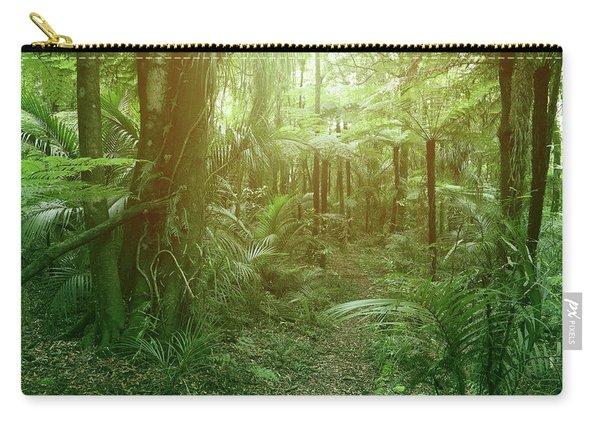 Jungle Fern Trees Carry-all Pouch
