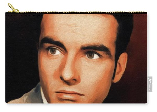 Montgomery Clift, Vintage Movie Star Carry-all Pouch