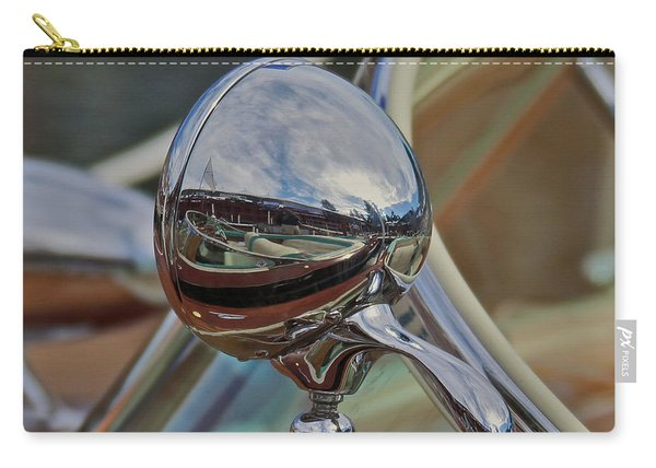 Riva Chrome Carry-all Pouch