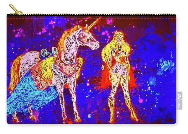 She - Ra And Swift Wind Carry-all Pouch
