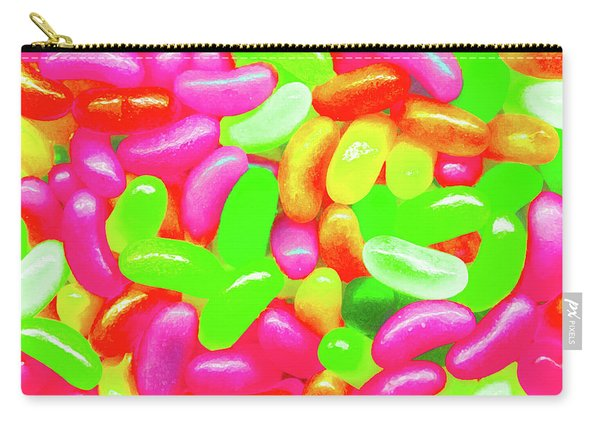 Vibrant Jelly Beans Carry-all Pouch