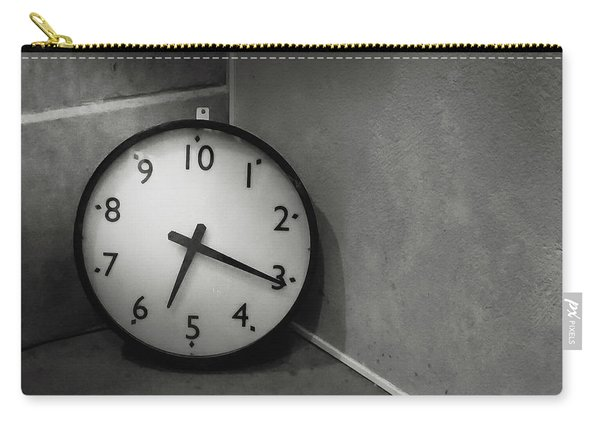 Carry-all Pouch featuring the photograph 20 Hours Day by Juan Contreras