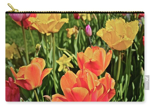 2019 Acewood Tulips And Daffodils 1 Carry-all Pouch