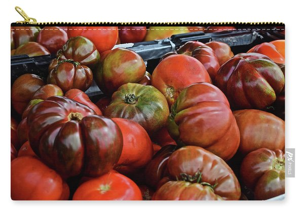 2019 Farmers' Market Spring Green Heirloom Tomatoes 1 Carry-all Pouch