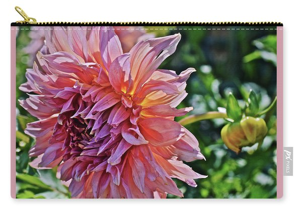 2019 July Monona Farmers' Market Dahlia 1 Carry-all Pouch