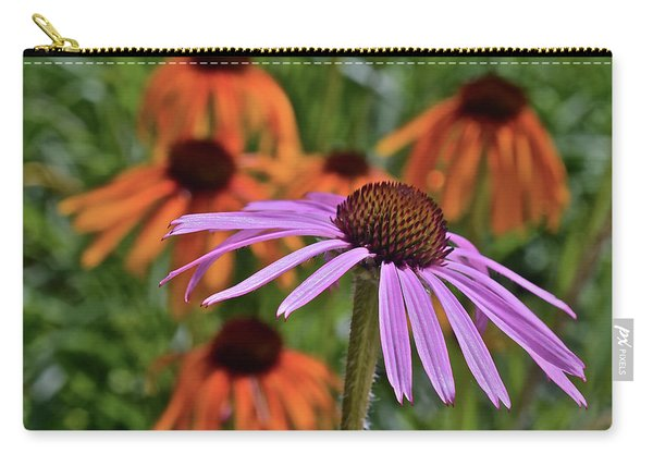 2019 June At The Gardens Coneflowers Carry-all Pouch