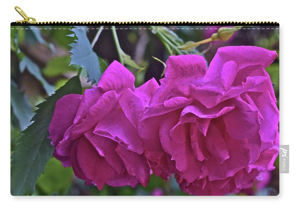 2019 June At The Gardens Shrub Roses Carry-all Pouch