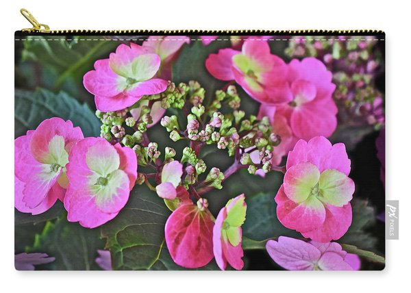 2019 June At The Gardens Tuff Stuff Hydrangea Carry-all Pouch