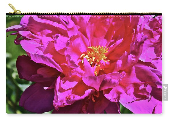 2019 June Neighborhood Flowers Peony Carry-all Pouch