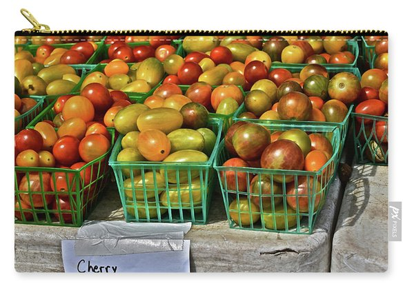 2019 Monona Farmers' Market July Cherry Tomatoes Carry-all Pouch