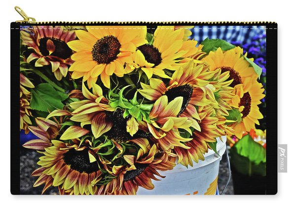 2019 Monona Farmers' Market July Sunflowers 1 Carry-all Pouch