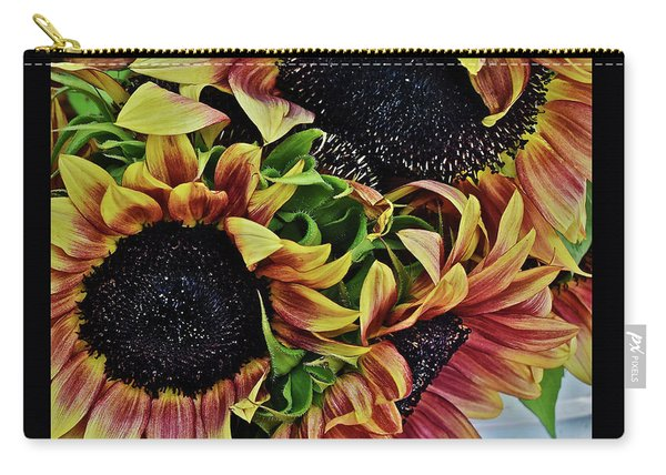 2019 Monona Farmers' Market July Sunflowers 3 Carry-all Pouch