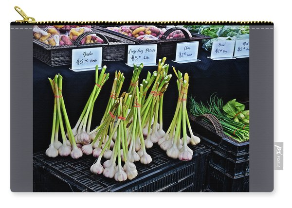 2019 Monona Farmers' Market July Vegetables Carry-all Pouch