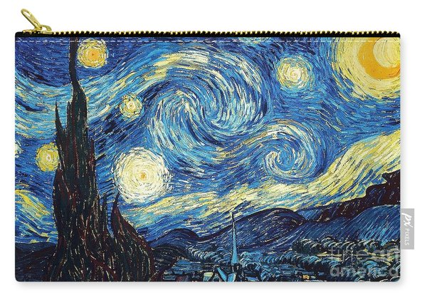 Starry Night By Van Gogh Carry-all Pouch