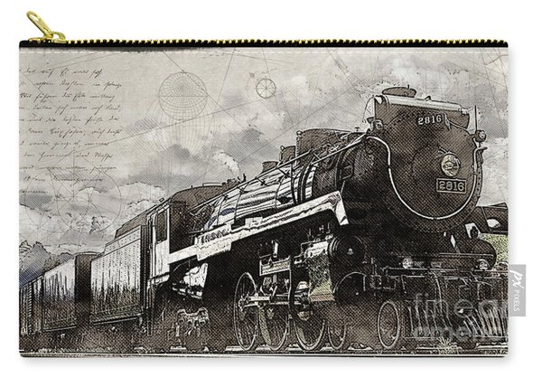 2816 At Banff Siding Carry-all Pouch