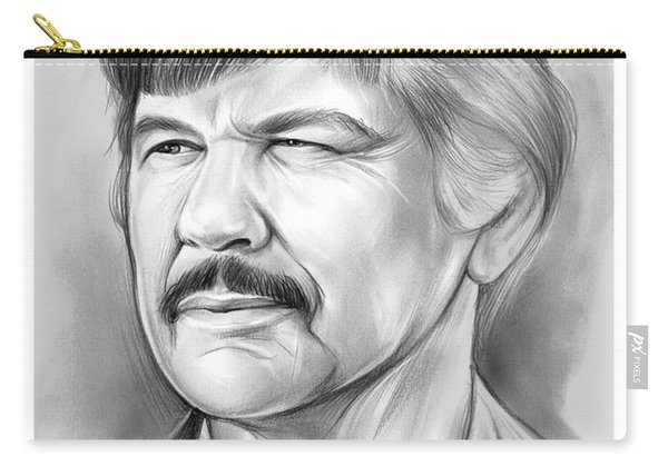 Charles Bronson Carry-all Pouch