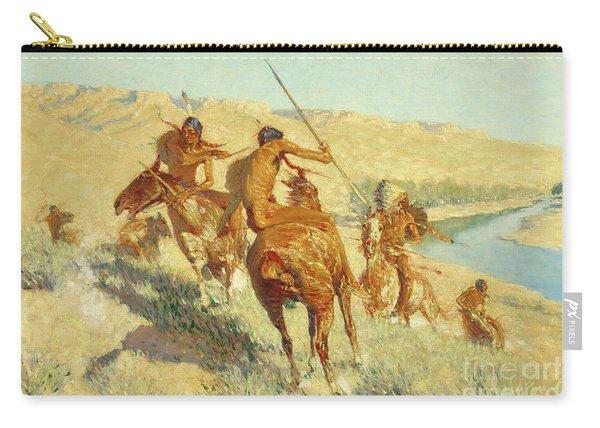 Episode Of The Buffalo Gun Carry-all Pouch