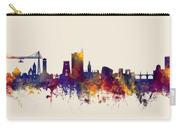 Newport Wales Skyline Carry-all Pouch