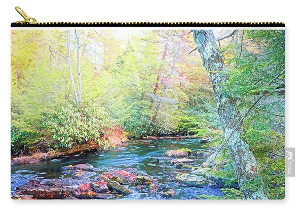 Pocono Mountain Stream, Pennsylvania Carry-all Pouch