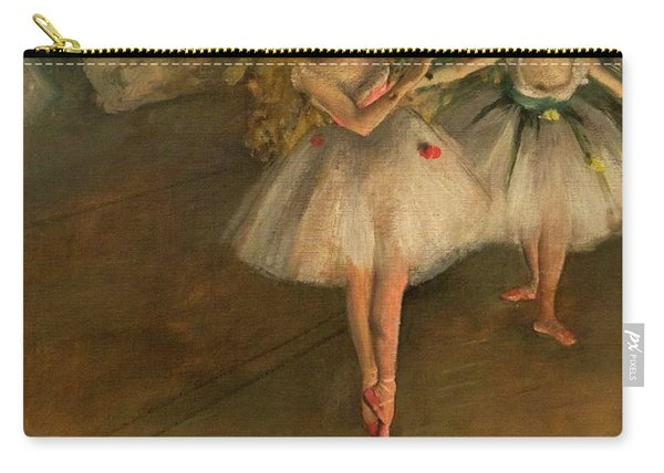 Two Dancers On A Stage Carry-all Pouch