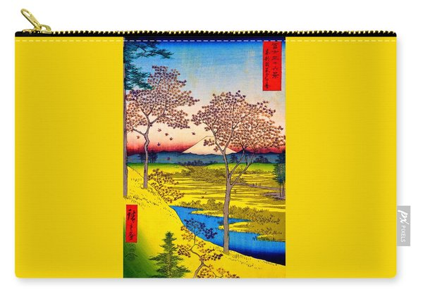 36 Views Of Mt.fuji - Yuhigaoka In The Eastern Capital - Digital Remastered Edition Carry-all Pouch