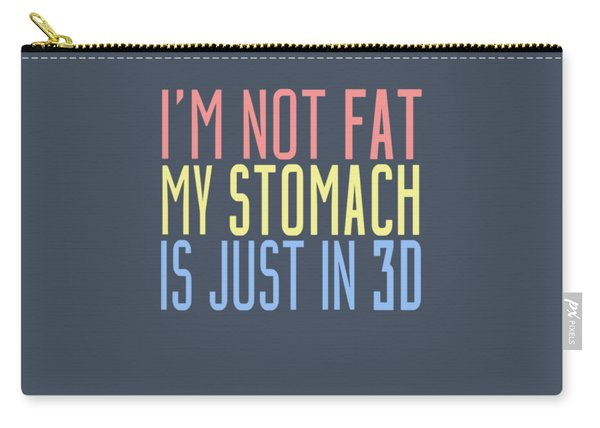 My Stomach Carry-all Pouch