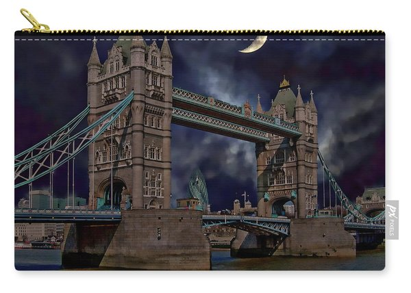 London Tower Bridge Carry-all Pouch