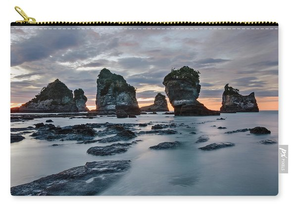 Motukiekie Beach - New Zealand Carry-all Pouch