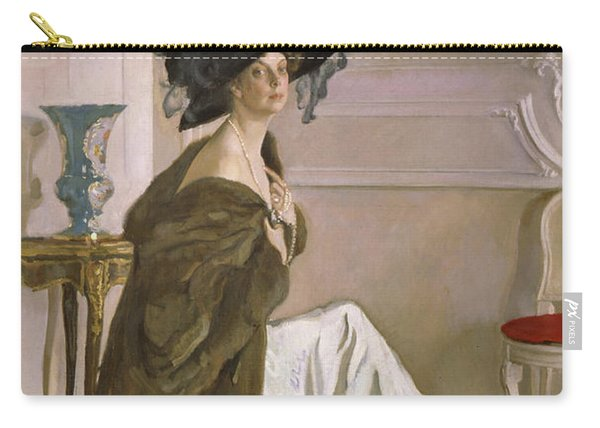 Portrait Of Princess Olga Orlova Carry-all Pouch