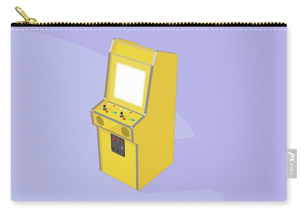Vintage Arcade Machine Carry-all Pouch