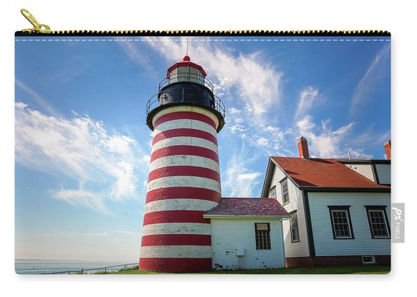 West Quoddy Head Light Carry-all Pouch