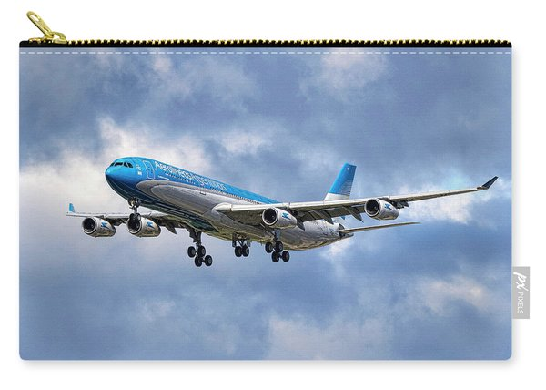 Aerolineas Argentinas Airbus A340-313 Carry-all Pouch