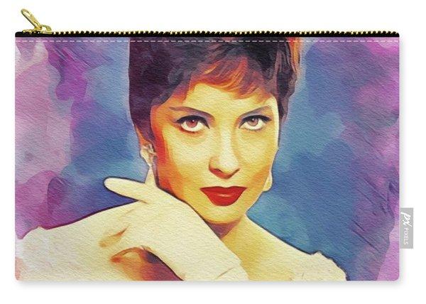 Gina Lollobrigida, Vintage Movie Star Carry-all Pouch