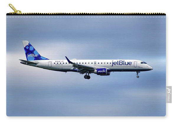 Jetblue Airways Embraer Erj-190ar Carry-all Pouch