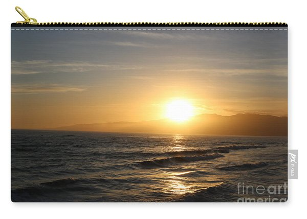 Pacific Sunset , Santa Monica, California Carry-all Pouch