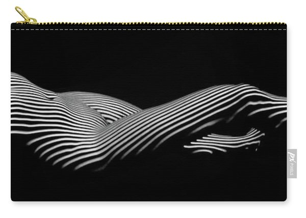 5298 Zebra Woman H Carry-all Pouch
