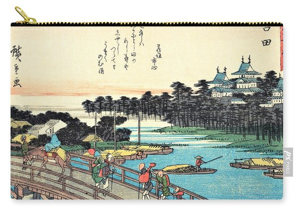 53 Stations Of The Tokaido - Yoshida Carry-all Pouch
