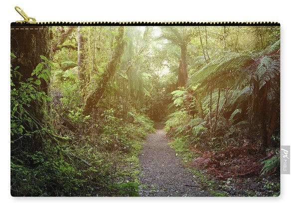 Forest Walking Trail Carry-all Pouch