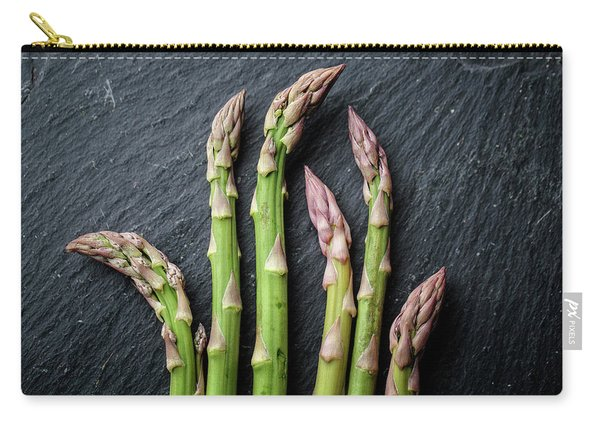 Fresh Green Asparagus Carry-all Pouch
