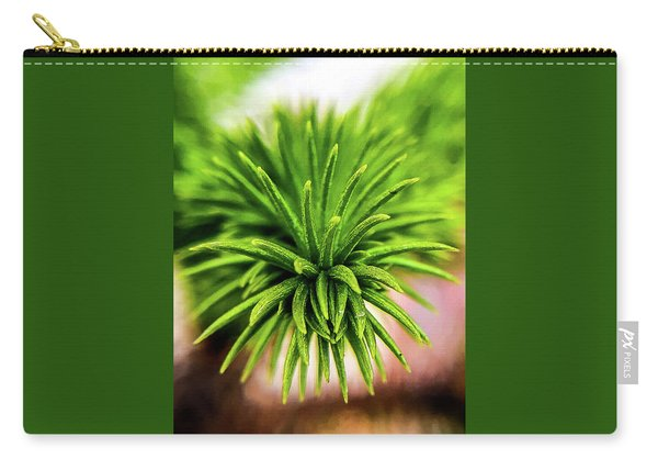Green Spines Carry-all Pouch