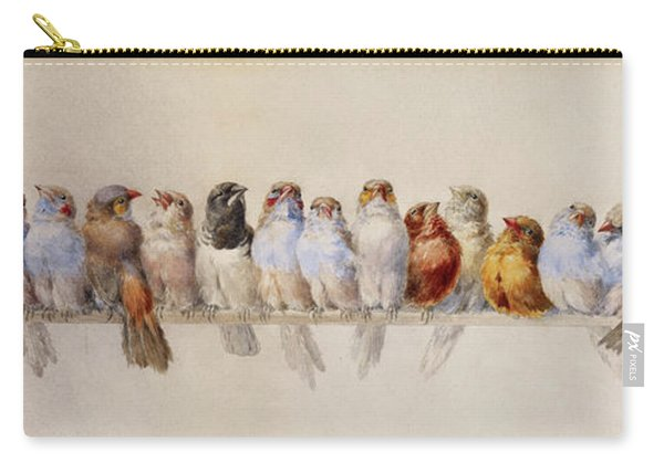 A Perch Of Birds  Carry-all Pouch