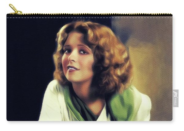 Clara Bow, Vintage Movie Star Carry-all Pouch