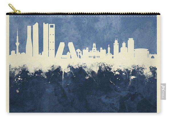 Madrid Spain Skyline Carry-all Pouch