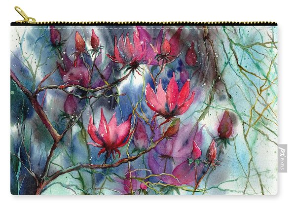 A Blooming Magnolia Carry-all Pouch